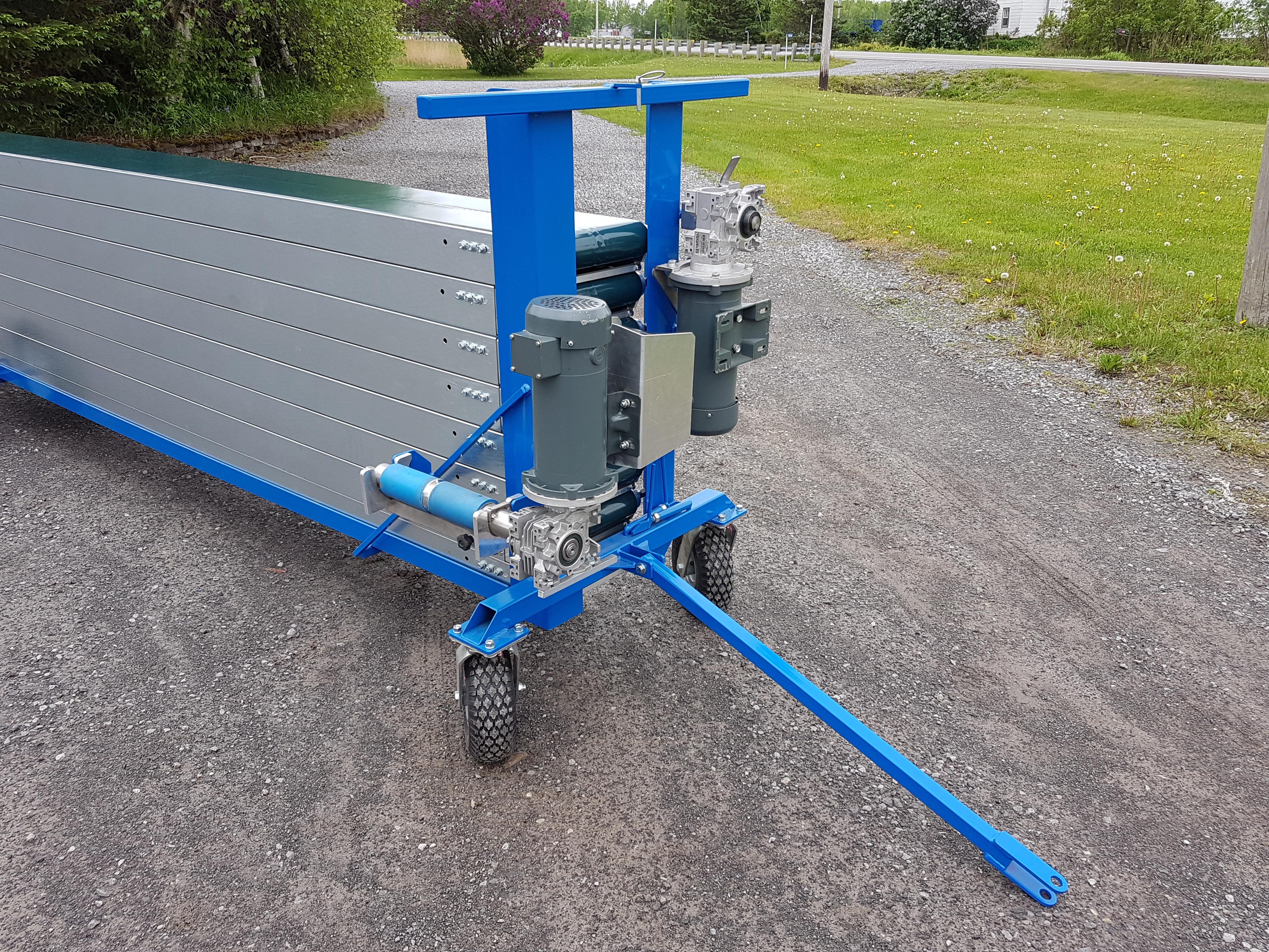 SB 10EPC Economical Portable Conveyor - www sbee ca